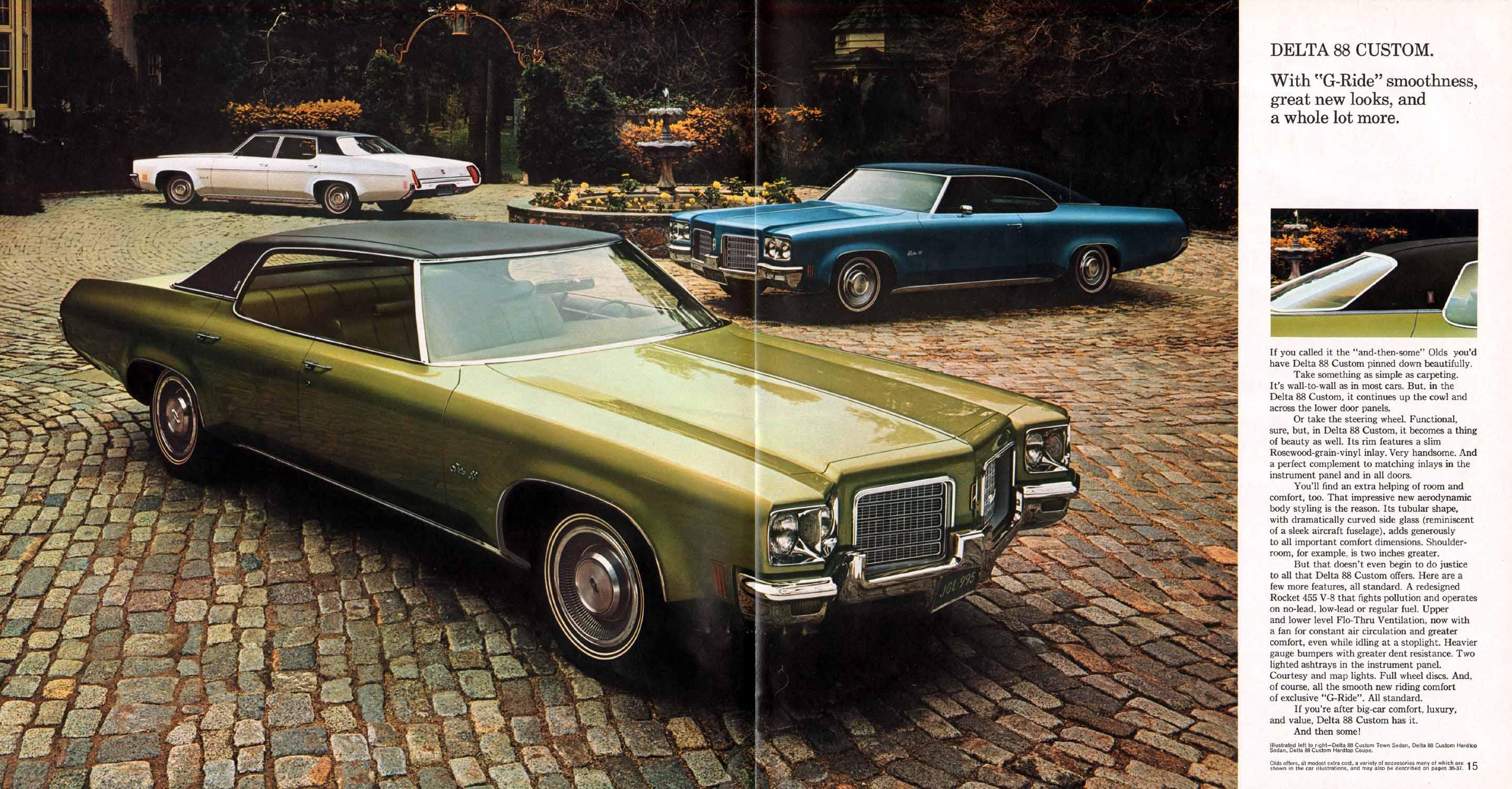Directory Index Oldsmobile 1971 Oldsmobile 1971 Oldsmobile Prestige Brochure