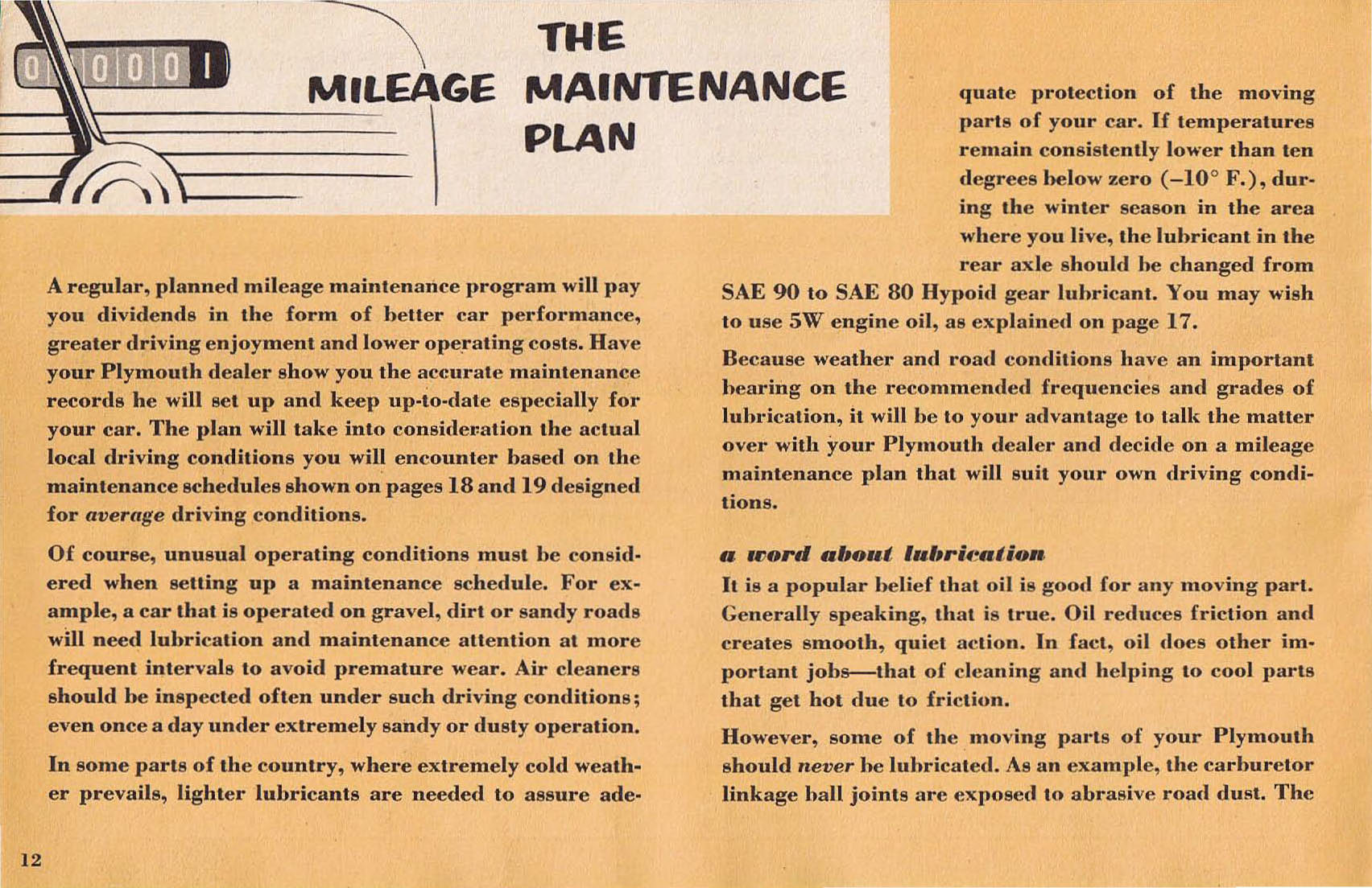 Dealers maintenance schedule user manuals array 1953 plymouth owners manual rh oldcarbrochures com fandeluxe Gallery