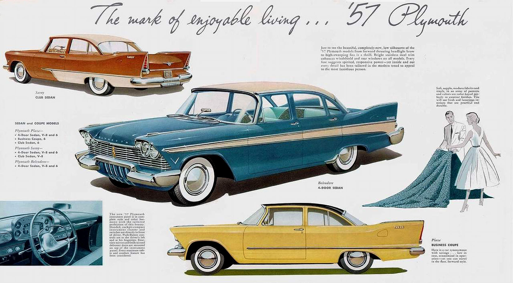 directory index plymouth 1957 plymouth 1957 chrysler plymouth brochure